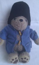 Adorable My 1st Big Traditional 'Paddington Bear' Blue Coat & Hat Plush Bear